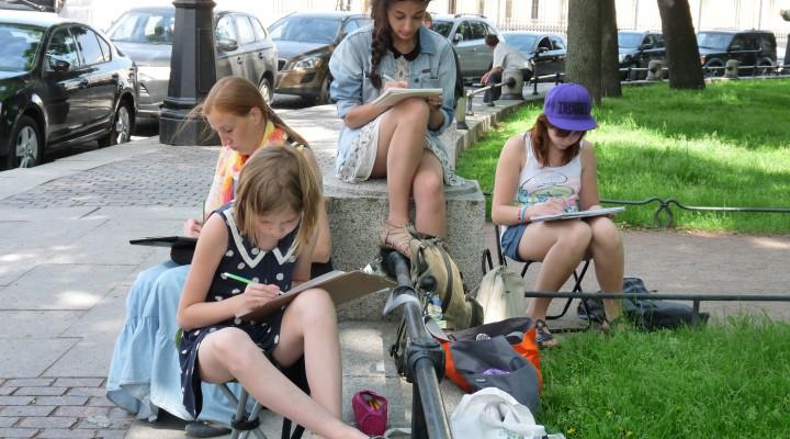 «Опыт проведения этюдной практики в изостудии с учащимися младшего школьного возраста»