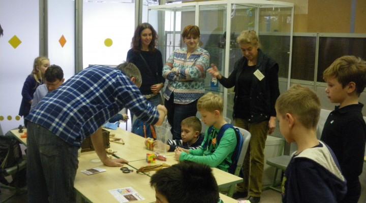 Опыт применения умственных игр в очно-заочной работе с детьми на празднике