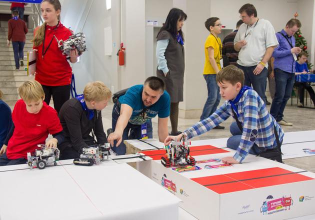 Турнир двух столиц по робототехнике