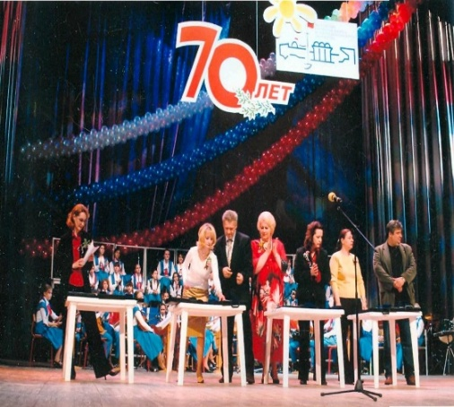 Награждение сотрудников (программа «Кадры- Дворца-2») в рамках юбилея Дворца