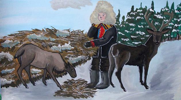 Московский конкурс детского рисунка имени Нади Рушевой