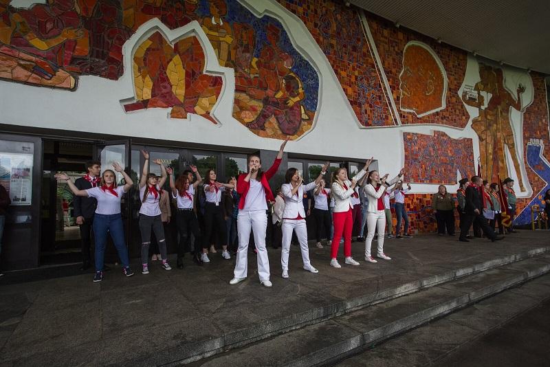 На Воробьёвых горах торжественно отпраздновали «День пионерии»