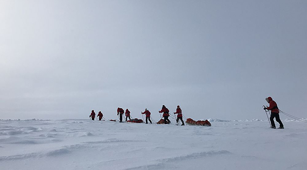 Большую Арктическую экспедицию