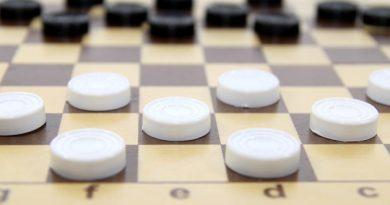 Юный шашист