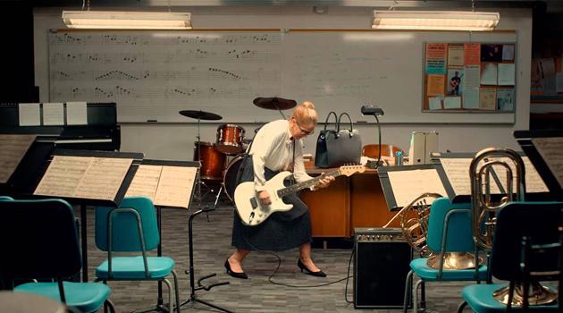 Новый учитель музыки