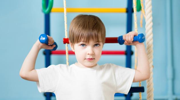 физкультура дети