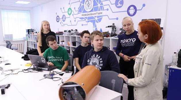 Международный конкурс детских инженерных команд «Кванториада-2021»